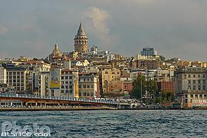 Beyoglu et la tour de Galata, Istanbul, Turquie, Marmara Bölgesi, Turquie