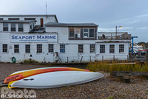 Photo : Seaport Marine, Mystic, Stonington, Connecticut, Etats-Unis