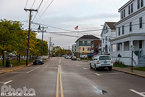 Photo : Cottrell Street, Mystic, Stonington, Connecticut, Etats-Unis