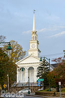 Photo : Union Baptist Church, Mystic, Stonington, Connecticut, Etats-Unis