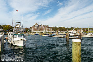 Photo : Port de Jamestown, Rhode Island, Etats-Unis