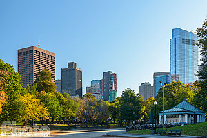 Photo : Boston Common en automne, Boston, Massachusetts, Etats-Unis