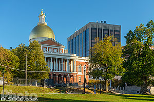 Photo : Massachusetts State House, Boston, Massachusetts, Etats-Unis