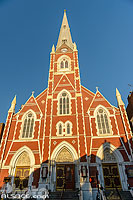 Photo : Saint Anthony of Padua Church sur Manhattan avenue, Quartier de Greenpoint, Brooklyn, New York, Etats-Unis, New York, Etats-Unis