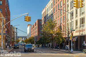 Photo : Kent Avenue, Williamsburg, Brooklyn, New York, Etats-Unis