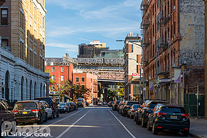 Photo : Berry Street, Williamsburg, Brooklyn, New York, Etats-Unis