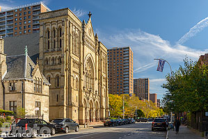 Photo : Emmanuel Baptist Church, Lafayette Avenue, Clinton Hill, Brooklyn, New York, Etats-Unis