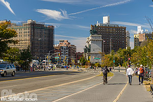 Eastern Parkway, Prospect Heights, Brooklyn, New York, Etats-Unis