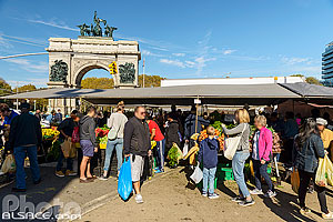 Photo : Grand Army Plaza Greenmarket, Brooklyn, New York, Etats-Unis