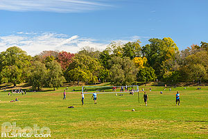 Photo : Prospect Park en automne, Brooklyn, New York, Etats-Unis