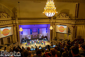 Photo : Messe gospel à la First Corinthian Baptist Church (FCBC), Harlem, Manhattan, New York, Etats-Unis