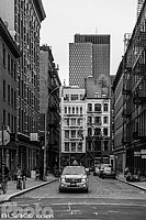 Crosby Street dans le quartier de Soho, Manhattan, New York, Etats-Unis
