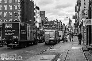 Photo : Canal Street entre Soho et Tribeca, Manhattan, New York, Etats-Unis