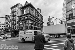 Photo : Carrefour Canal Street et Center Street, Chinatown, Manhattan, New York, Etats-Unis