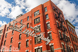 Photo : Little Italy, Mulberry Street, Manhattan, New York, Etats-Unis