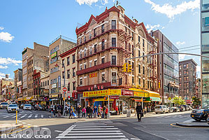 Photo : Chatham Square, Chinatown, Manhattan, New York, Etats-Unis