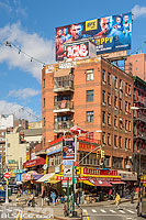 Photo : Eldridge Street, Chinatown, Manhattan, New York, Etats-Unis