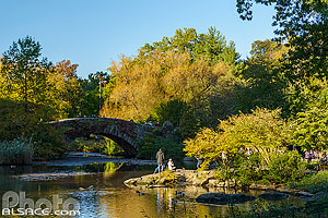 The Pond, Central Park, Manhattan, New-York, Etats-Unis