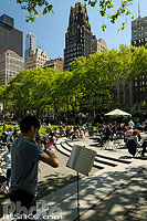 Bryant Park, West Midtown, Manhattan, New-York, Etats-Unis