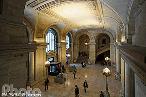 The New York Public Library, West Midtown, Manhattan, New-York, Etats-Unis