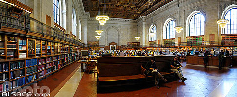 Photo : The New York Public Library, West Midtown, Manhattan, New-York, Etats-Unis, New York, Etats-Unis