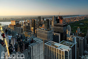 Photo : Observation Deck, Top of the Rock, Manhattan, New-York, Etats-Unis