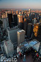 Photo : Observation Deck, Top of the Rock, Manhattan, New-York, Etats-Unis, New York, Etats-Unis