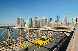 Brooklyn Bridge, Manhattan, New-York, Etats-Unis