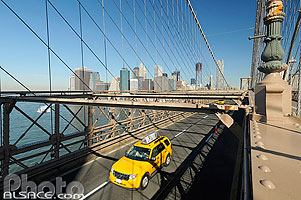 Brooklyn Bridge, Manhattan, New-York, Etats-Unis, New York, Etats-Unis