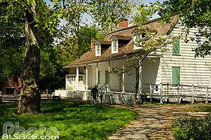 Photo : Lefferts Historic House, Prospect Park, Brooklyn, New York, Etats-Unis