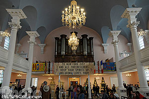 Photo : Saint Paul's Chapel, Manhattan, New York, Etats-Unis, New York, Etats-Unis