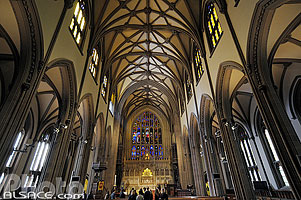 Photo : Trinity Church, Lower Manhattan, Manhattan, New York, Etats-Unis