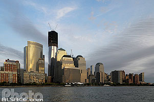 Photo : Lower Manhattan et Freedom Tower, Manhattan, New York, Etats-Unis, New York, Etats-Unis