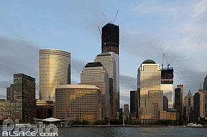 Photo : Lower Manhattan et Freedom Tower, Manhattan, New York, Etats-Unis