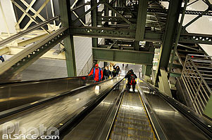 Photo : Sation de métro 42 Street Port Authority Bus Terminal, West Midtown, Manhattan, New York, Etats-Unis