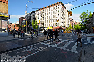 Photo : 21st Street et 8th Avenue, Chelsea, Manhattan, New York, Etats-Unis, New York, Etats-Unis