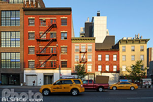Photo : 10th Avenue, Chelsea, Manhattan, New York, Etats-Unis