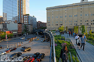 Photo : The High Line, Chelsea, Manhattan, New York, Etats-Unis, New York, Etats-Unis