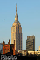 Photo : Empire State Building, Manhattan, New York, Etats-Unis