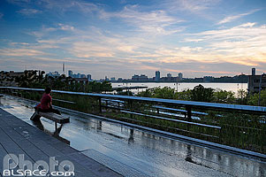Photo : The High Line, Chelsea, Manhattan, New York, Etats-Unis