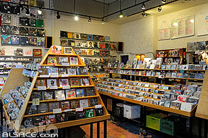 Photo : Other Music, 4th Street, West Village, Manhattan, New York, Etats-Unis