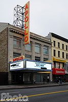 Photo : Apollo Theatre, 125th Street, Harlem, Manhattan, New York, Etats-Unis