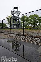 Photo : Fire Watchtower, Marcus Garvey Park, Harlem, Manhattan, New York, Etats-Unis