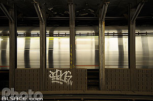 Photo : Station de métro 86th Street, Upper West Side, Manhattan, New York, Etats-Unis
