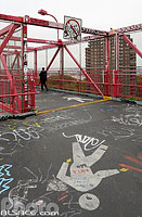 Photo : Williamsburg Bridge, Lower East Side, Manhattan, New York, Etats-Unis, New York, Etats-Unis