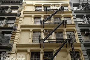 Photo : Greene Street, Soho, Manhattan, New York, Etats-Unis