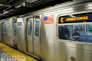 Photo : Station métro Canal Street, Manhattan, New York, Etats-Unis