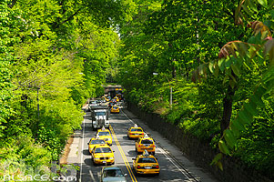 65th Street Transverse Road, Central Park, Manhattan, New York, Etats-Unis