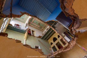 Beyrouth, maison en ruine