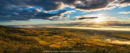 Sur le blog de photo-alsace : Vignoble en automne